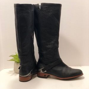 Ugg Black Leather Boots